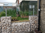 small gabion fencing